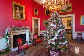 christmas decor in the home photos the 2017 white house christmas decorations washingtonian