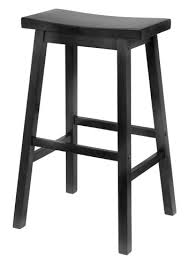 home depot black friday bar stools winsome wood 29 inch saddle seat bar stool black furniture