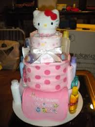 kitty diaper cake cute diaper cakes diapers