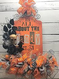 Halloween Home Decorating Halloween Halloween Door Hanger Halloween Decoration Halloween