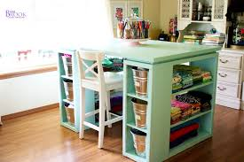 Corner Craft Desk Bedroom Craft Desk With Storage Splendid Crea Contemporary