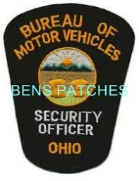 ohio bureau of motor vehicles ben s patch collection