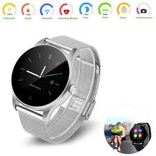 k88h bluetooth smart watch siri interaction heart rate monitor