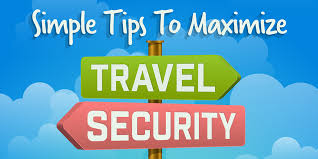 travel security images Simple tips to maximize travel security infographic jpg
