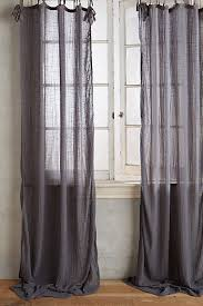 cotton tie top curtain window bedrooms and window coverings