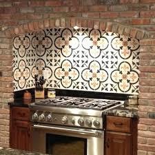 tile for backsplash spanish tile backsplash best choice for creating mexican kitchen