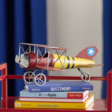 airplane helicopter decorative objects you ll wayfair