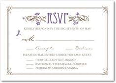 wedding reply cards sit plated dinner rsvp cards can you post some pics of