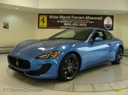 maserati metallic 2013 maserati granturismo sport coupe in blu sofisticato sport