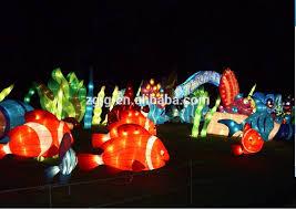 new design float for decoration theme park lantern for