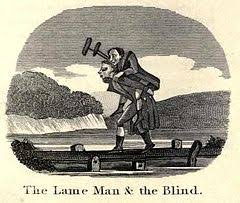 There Was This Blind Man Right The Blind Man And The Lame Wikipedia