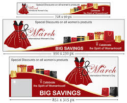 s day sales happy women s day banner set stock photo image of gifts womens