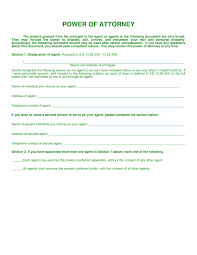 Florida Power Of Attorney Form Free Download by 30 Power Of Attorney Forms By State