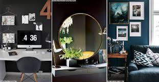 how to use dark shades in small spaces sheerluxe com