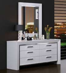 Bedroom Dressers With Mirrors Ibiza Modern Bedroom Set Bed Dresser Inspirations And Dressers