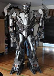 Transformer Halloween Costume Robotically Cool Transformer Costume Transformer Costume
