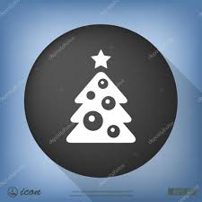 christmas tree facebook icon christmas lights decoration