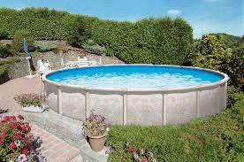 Backyard Leisure Pools by Saltwater Magnus Above Ground Pool Royal Swimming Pools