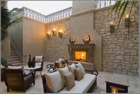 stunning patio and outdoor fireplace 2524 hostelgarden net