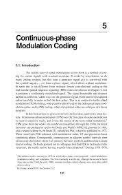 continuous phase modulation coding springer
