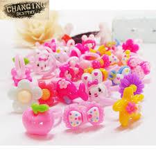 baby plastic rings images 1 package 20 children 39 s toys resin plastic rings cartoon ring for jpg
