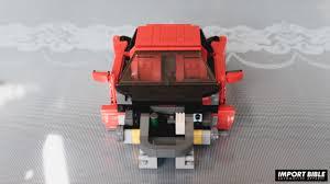 ferrari lego f40 lego ferrari f40 build import bible automotive apparel car