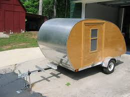 Teardrop Trailer Plans Free by Homemade Teardrop Camper Trailer Plans Crazy Homemade