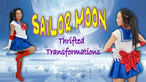 thrifted transformations ep 10 diy sailor moon costume youtube