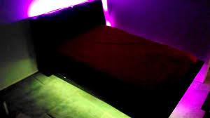 led lights for bedrooms bedroom under bed led light kit youtube