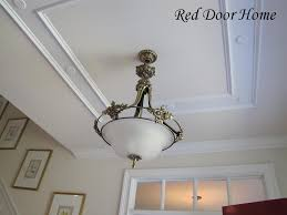 vaulted ceiling trim ideas foyer with beautiful wooden barrel
