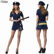 Halloween Costumes Adults Cheap Police Uniform Costume Women Aliexpress
