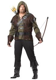 robin hood plus size mens costume storybook renaissance costumes
