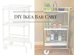 circa 1988 diy gold and marble bar cart ikea hack circa 1988