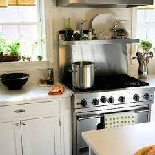 Stainless Steel Cooktop Backsplash Design Ideas - Stainless steel cooktop backsplash