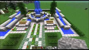 minecraft home design ep 25 fountains youtube
