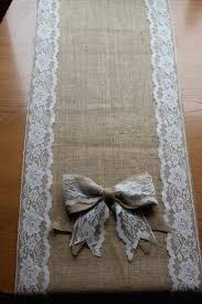 Burlap Lace Table Runner Lace Burlap Table Runner U2013 Bazaraurorita Com