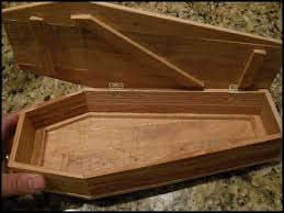 how to build a coffin coffin boxes candy dishes woodworking talk woodworkers forum