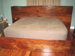 Mahogany Bed Frames Belizean Sinker Mahogany Bed Frame By Jakesdad Lumberjocks