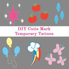 cutie mark temporary tattoos pictures to pin on pinterest tattooskid