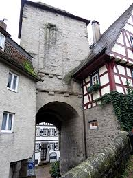 flying buttress bad wimpfen imperial palace flying buttress archway