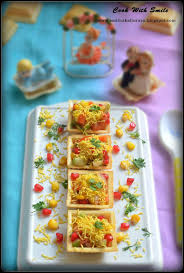 canapes recipe corn canapes corn sev canapes indian canapes recipe cook with