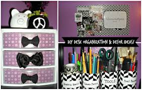 diy desk organization u0026 decor ideas youtube
