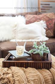 best 25 ottoman tray ideas on pinterest trays for coffee table