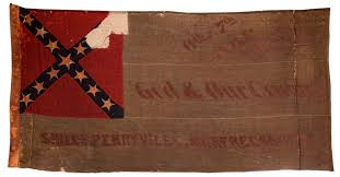 Battle Flags Of The Confederacy This Is A Confederate Second National Pattern Battle Flag Carried