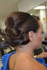 barrel curl hair pieces updo chic wedding upstyle smooth shiny barrel curls upstyles