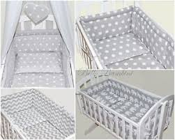 Swing Crib Bedding 4p Baby Swinging Rocking Crib Cradle Bedding Set All