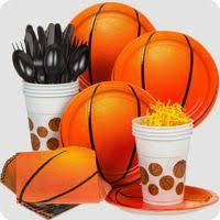 basketball party supplies basketball birthday party supplies birthday in a box