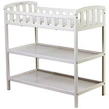 dream on me changing table white amazon com dream on me emily changing table white nursery