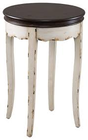 Wood Accent Table Clement Antique Wood Accent Table Farmhouse Side Tables And