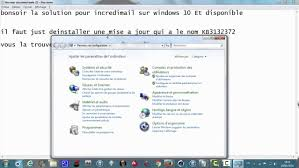 horloge bureau windows 8 incredimail fix crash windows 10